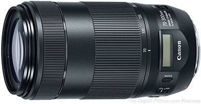 Canon Announces EF 70-300mm f/4-5.6 IS II USM Lens