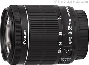 First Looks at Canon EF-S 18-55mm IS STM Lens Image Quality