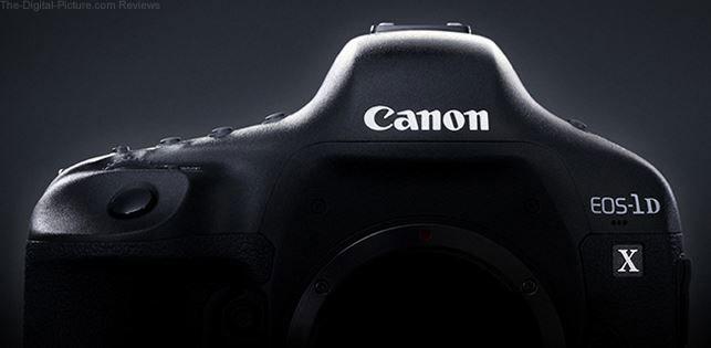 Canon EOS 1D X DSLR Camera