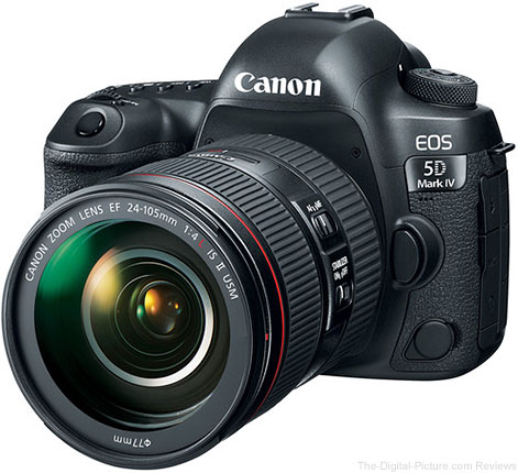 Canon EOS 5D Mark IV w/ EF 24-105L IS II In Stock at B&H