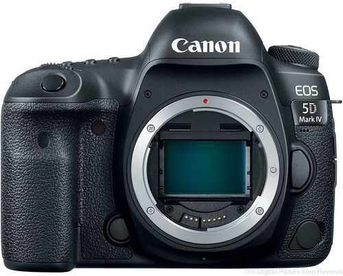 Canon EOS 5D Mark IV DSLR Camera with Canon Log Available for Preorder