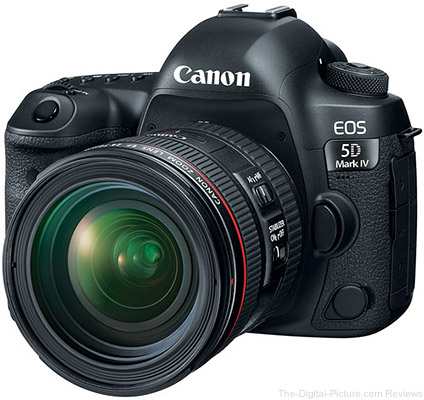 Canon EOS 5D Mark IV In Stock Notices