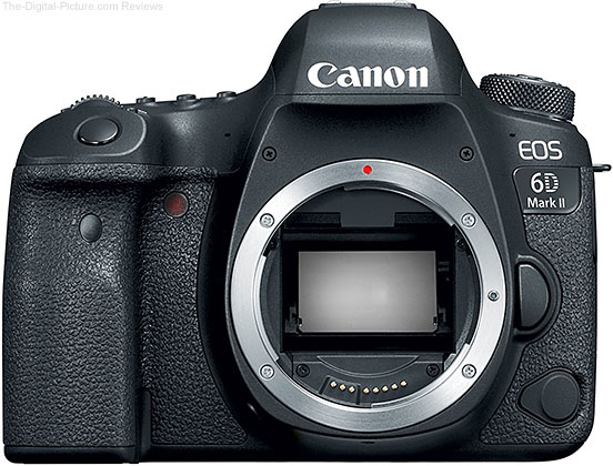 Refurb. Canon EOS 6D Mark II - $1,299.20 with Free Shipping (Compare at $1,999.00 New)