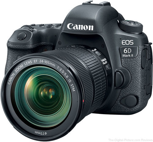 Canon EOS 6D Mark II with EF 24-105 IS STM Lens