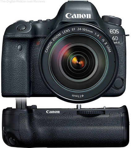 Canon EOS 6D Mark II with EF 24-105mm f/4L II & Battery Grip