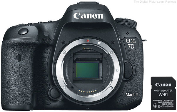 Canon EOS 7D Mark II with W-E1 Wi-Fi Adapter In Stock at Adorama