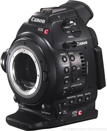 Canon EOS C100 Cinema EOS Camera with Dual Pixel CMOS AF