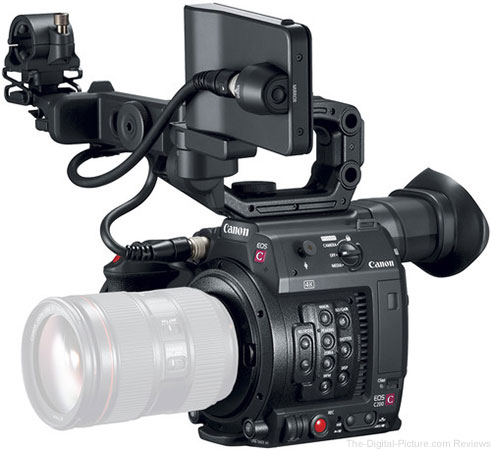 Canon Introduces 4K Compact Cinema EOS camera, the EOS C200