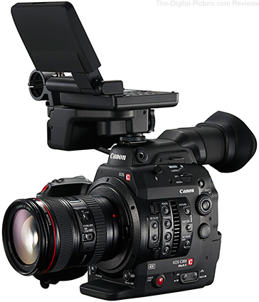 Canon EOS C300 Mark II with EF 24-105mm f/4L IS USM Lens