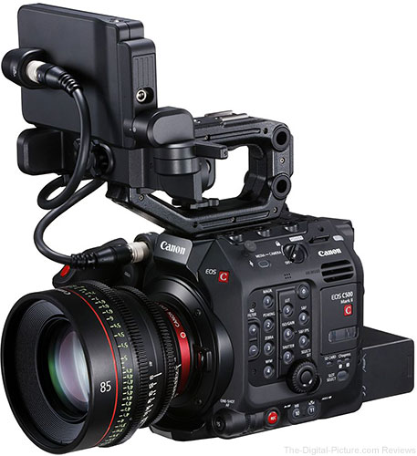 Canon Launches the EOS C500 Mark II
