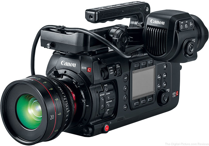 Canon EOS C700 FF Cinema Camera