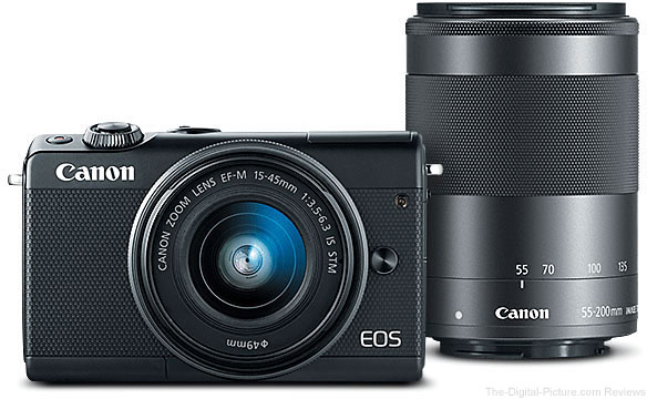 Canon EOS M100 Two Lens Bundle