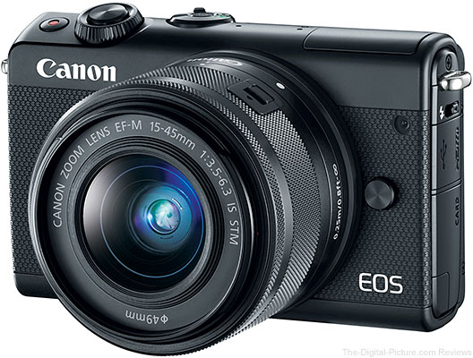 Canon EOS M100 with EF-M 15-45 IS STM Lens