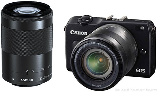"""Canon EOS M2 """"Double Zoom"""" Kit & New Color Coming in August (But Not to America)"""