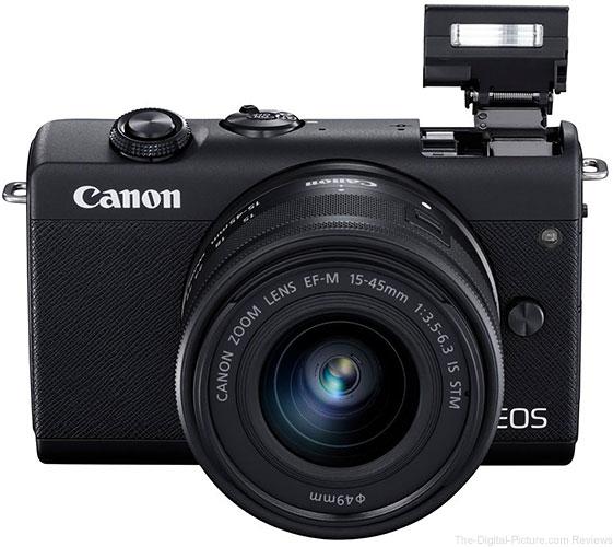 Canon Announces the EOS M200