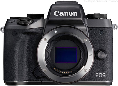 Refurb. Canon EOS M5 + EF-EOS M Adapter - $728.99 Shipped (Compare at $1,128.00 New)