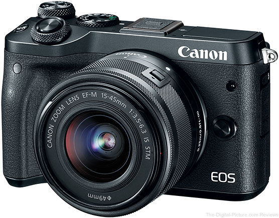 Canon EOS M6 Mirrorless Camera