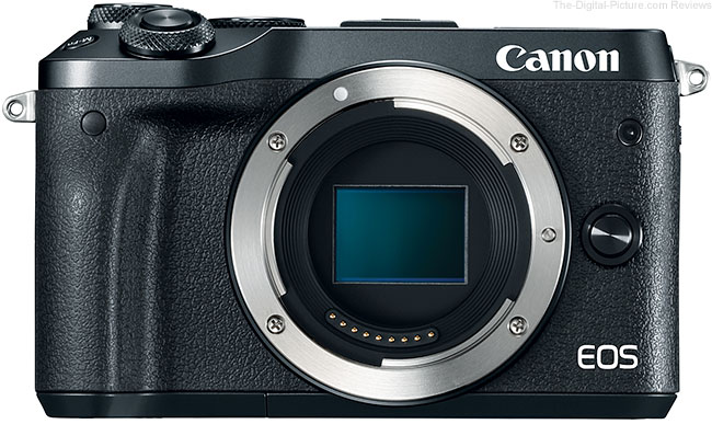 Canon EOS M6 Mirrorless Camera - $548.65 Shipped (Compare at $729.00)