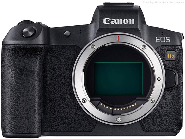 Canon EOS Ra Firmware Update Version 1.8.0 Released