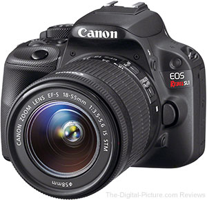 Just Announced: The Tiny Canon EOS Rebel SL1 / 100D DSLR Camera