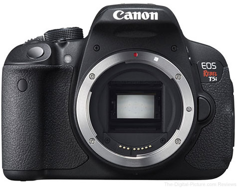Canon EOS Rebel T5i Camera
