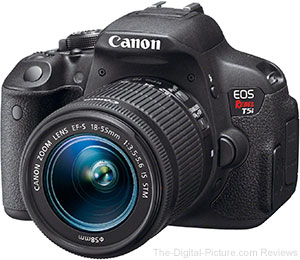 Just Announced: Canon EOS Rebel T5i / 700D DSLR Camera