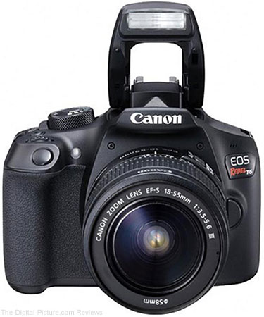 Canon EOS Rebel T6 + EF-S 18-55mm f/3.5-5.6 III Lens