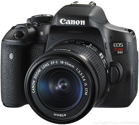 Canon EOS Rebel T6i   EF-S 18-55 IS STM, PIXMA PRO-100 Bundle - $449.99 Shipped (Compare at $599.00)