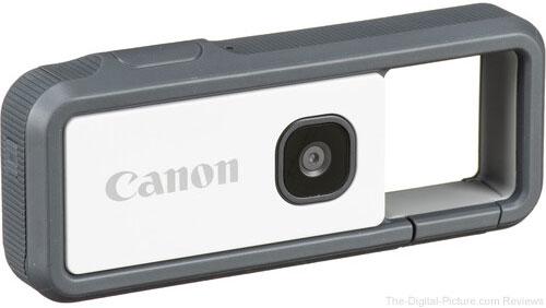Canon IVY REC Digital Camera (Gray)
