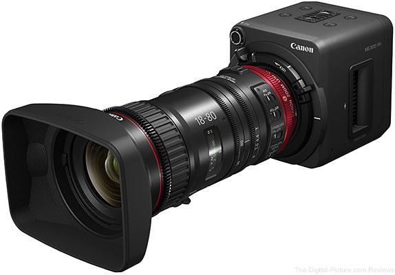 Canon ME200S-SH & CN-E 18-80mm T4.4 Compact-Servo Lens