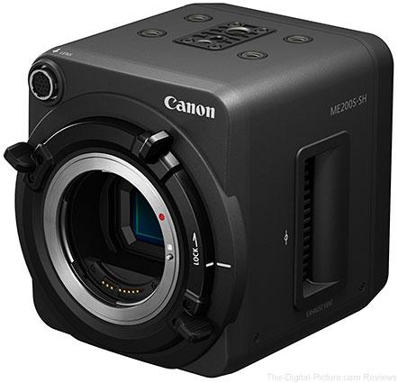 Canon Unveils ME200S-SH Multi-Purpose Camera