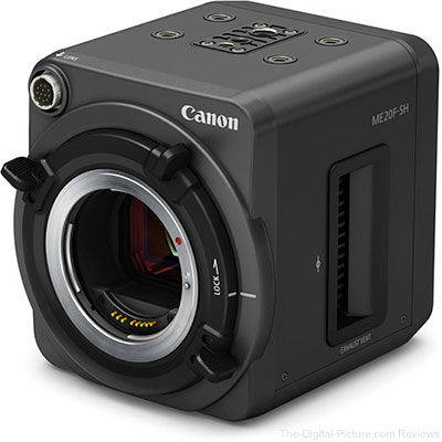 Canon's ME20F-SH Multi-Purpose Camera Enables Viewers to 'See in the Dark' on National Geographic's 'Earth Live'