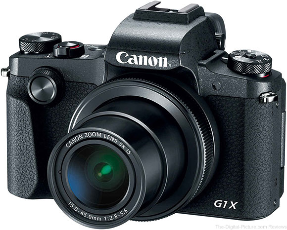 Canon Announces the PowerShot G1 X Mark III