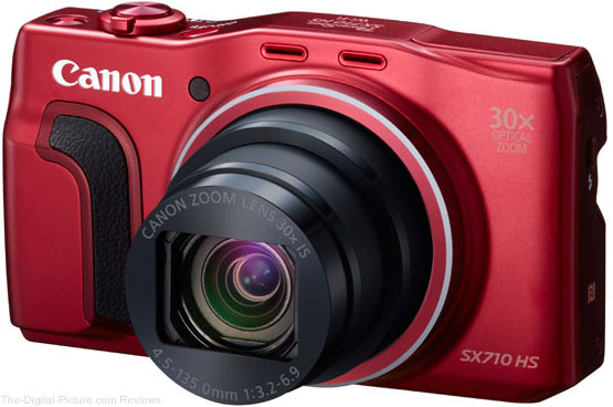 Canon PowerShot SX710 HS (Red)