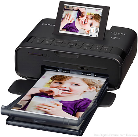Canon Introduces SELPHY CP1300 Wi-Fi Enabled Printer