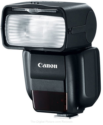 Update: Canon Speedlite 430EX III-RT is a Master Flash [in Radio Mode]