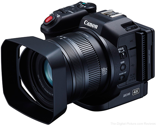 Canon XC10 Compact 4k Video Camera