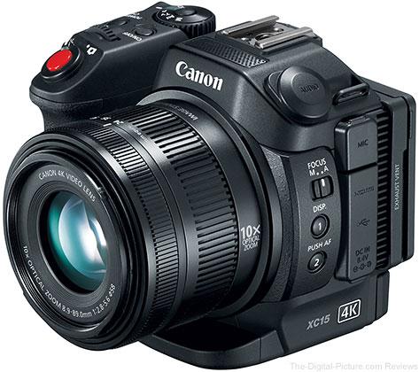 Canon Announces XC15 4K UHD Video Camcorder