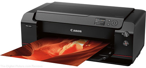 Canon Updates imagePROGRAF PRO-1000 with Larger Print Size Support