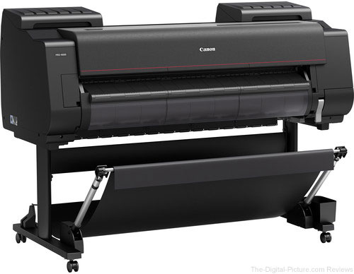 "Canon imagePROGRAF PRO-4000 44"" Professional Photographic Large-Format Inkjet Printer"