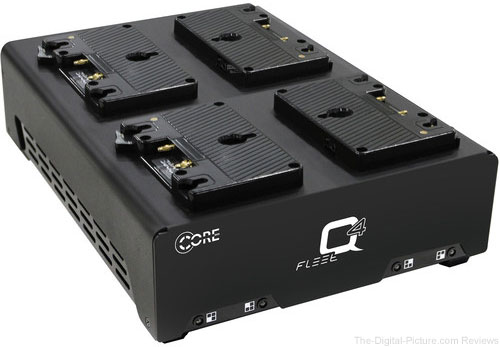 Core SWX Fleet Q Gold Mount Four-Position Charger