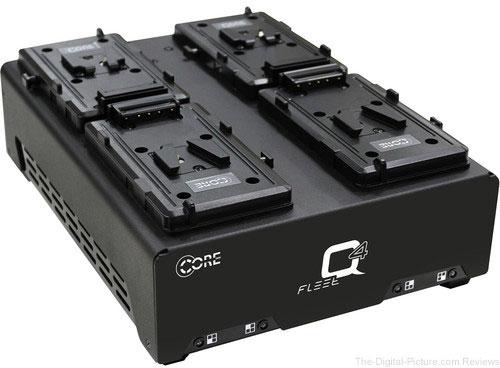 Core SWX Fleet Q V-Mount Four-Position Charger