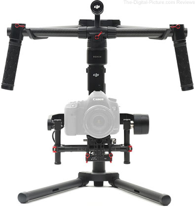 DJI Ronin-M 3-Axis Handheld Gimbal Stabilizer Available for Preorder at B&H