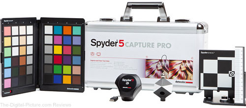 Datacolor Spyder5CAPTURE PRO Color Calibration Suite
