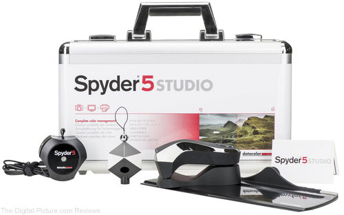 Datacolor Releases Spyder5STUDIO Calibration Suite for Photographers