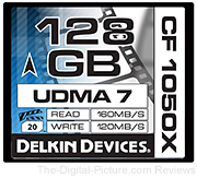 Delkin Announces CF 1050X CompactFlash Cinema Card