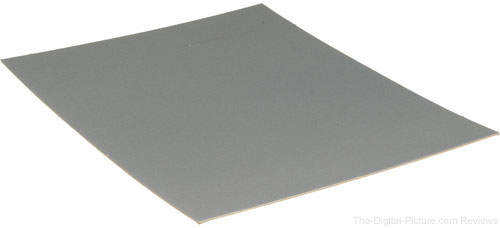 Delta 1 Gray Card 8x10in