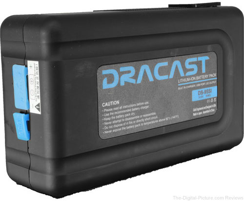Dracast 95Wh Lithium-ion Battery (V-Mount)