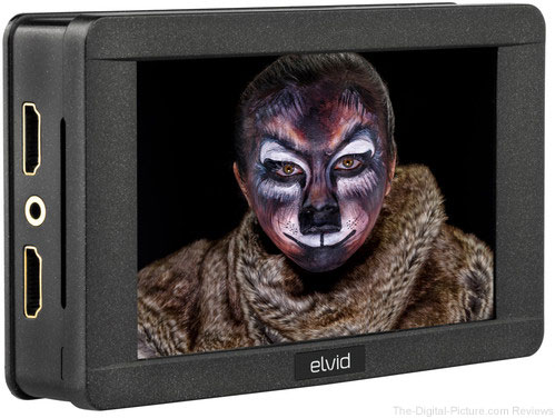 "Elvid 5"" RigVision HDR On-Camera Touchscreen Monitor"