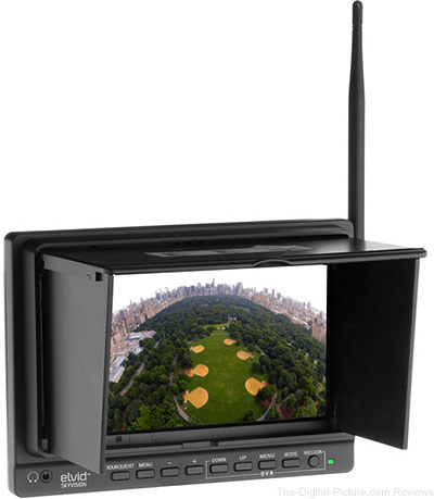 "Elvid SkyVision 7"" On-Camera & Aerial Imaging LCD Monitor - $139.95 Shipped (Reg. $329.95)"